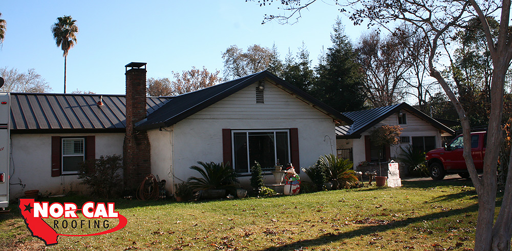 Nor Cal Roofing Residential Skyline Metal Roof Chico Orland Northern California