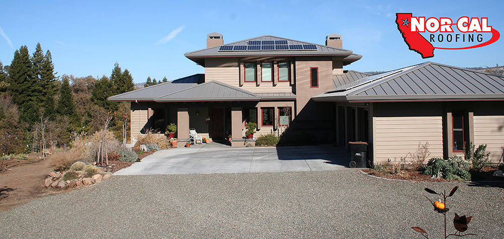 Nor Cal Roofing Residential Solar Roof Chico Oroville