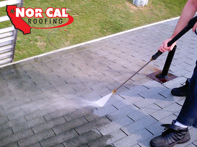 Nor-Cal Roofing, How to clean residential asphalt shingles in Chico
