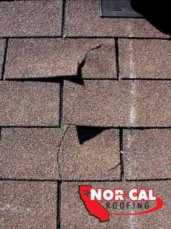Nor Cal Roofing - Splitting, Riding, Blistering, Roof