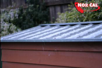 Nor-Cal Roofing Metal Roof - Hail storm in Orland, CA