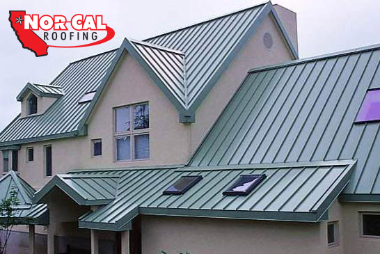 Comparison of asphalt shingles and metal roofing orland ca for Most expensive roof material