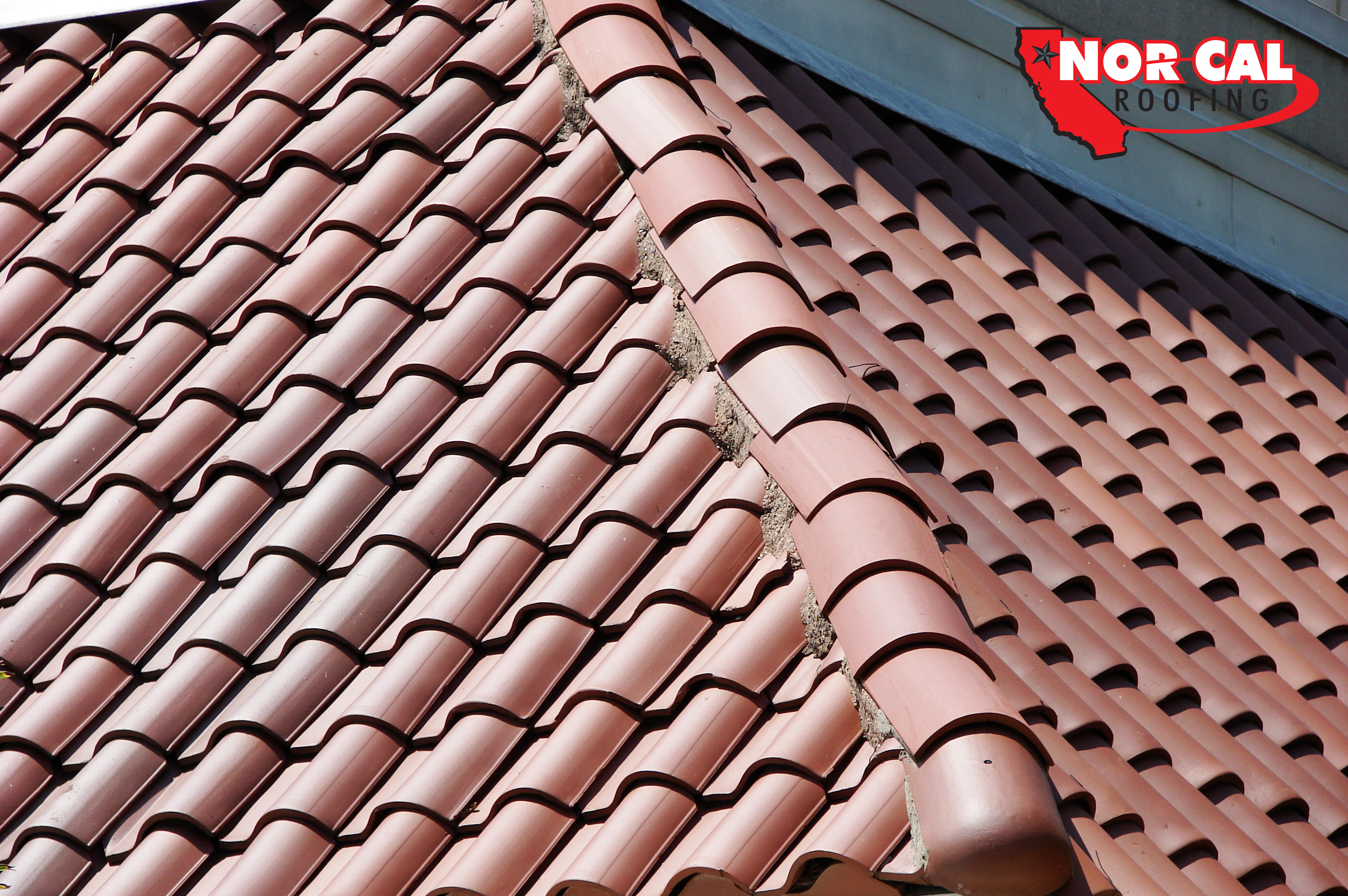 Comparison of asphalt shingles and metal roofing orland ca for Clay tile roofs